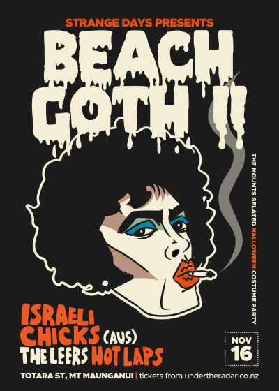 Beach Goth II - The Mount's Belated Halloween Costume Party