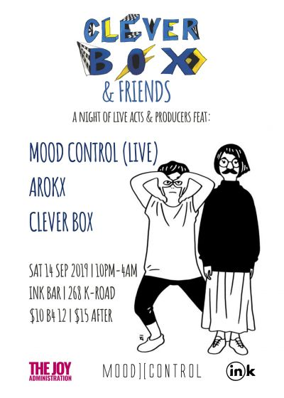 Clever Box and Friends Feat. Mood Control (live) and Arokx