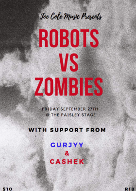 Robots vs Zombies: Release Party