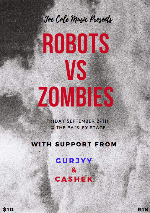 Robots vs Zombies: Release Party