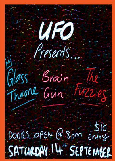 Fuzzy Glass Brain - UFO, Auckland - Sat, 14 September 2019