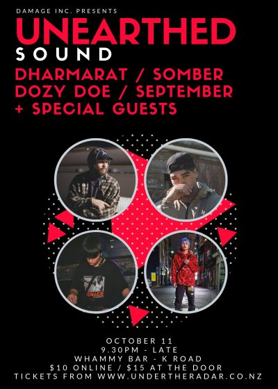 Unearthed Sound: Dharmarat / Somber / September / Dozy Doe