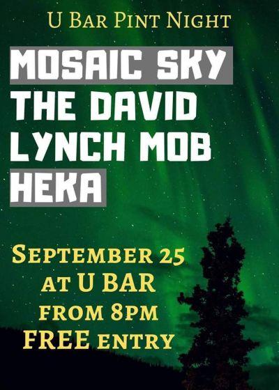 Mosiac Sky, Heka, The David Lynch Mob