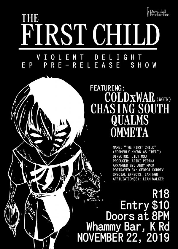 The First Child - Violent Delight EP Pre-Release