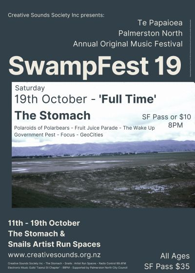 Swampfest19 - 'Full Time'