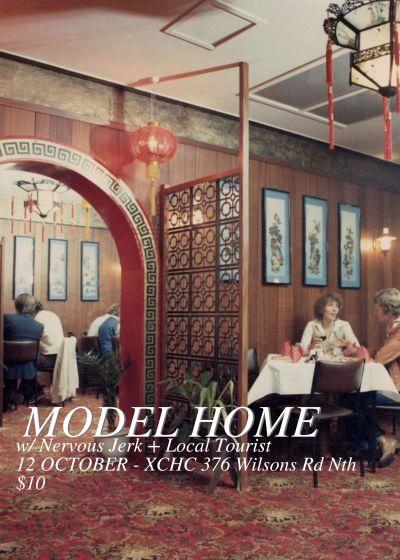 Model Home, Nervous Jerk, Local Tourist