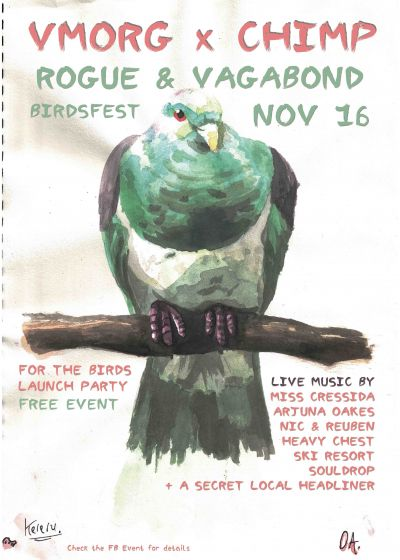 BIRDSFEST // VMorg x Chimp Launch Party