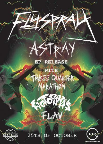 Flyspray - Astray EP Release Party