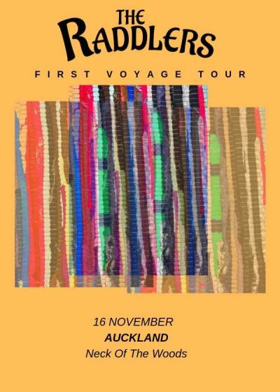 The Raddlers - First Voyage Tour