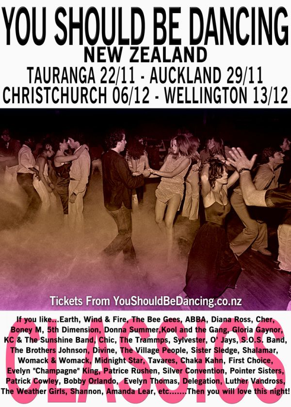You Should Be Dancing - NZ Tour 4