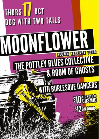 Moonflower, The Pottley Blues Collective, Room of Ghosts