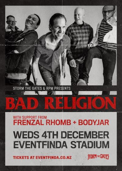 Bad Religion with guests Frenzal Rhomb and Bodyjar