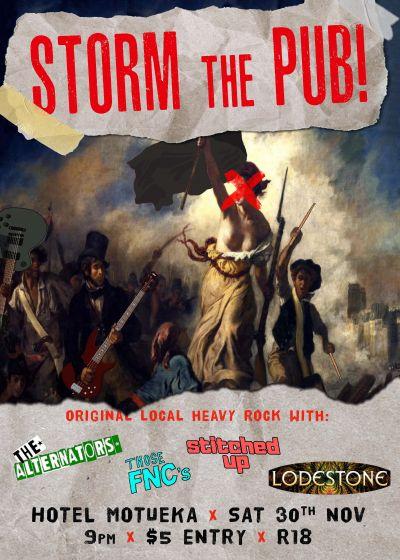 Storm The Pub!
