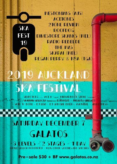 The 2019 Auckland Ska Festival