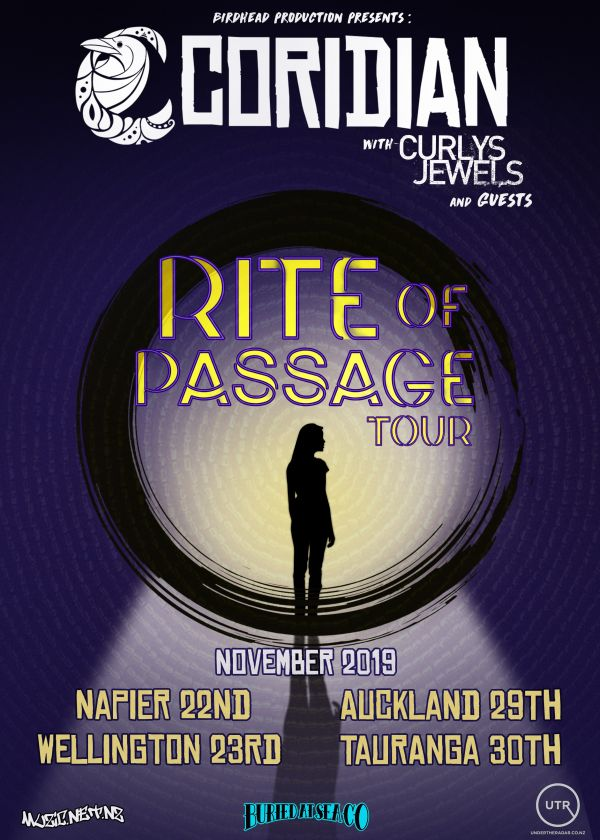 Coridian 'Rite Of Passage' Single Release Tour
