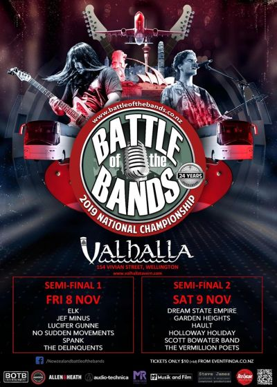 Battle Of The Bands Semi Final 1