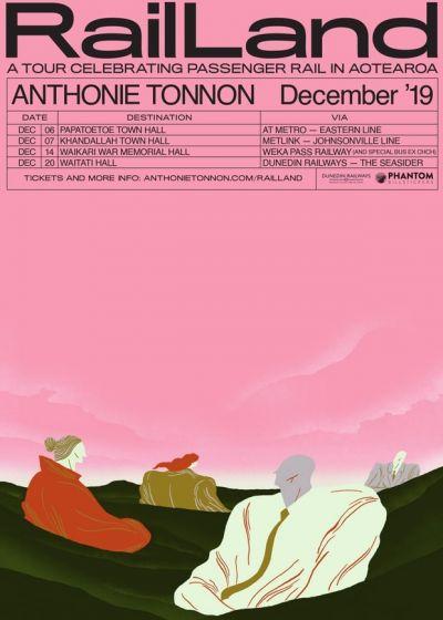 Anthonie Tonnon Presents Rail Land 2019
