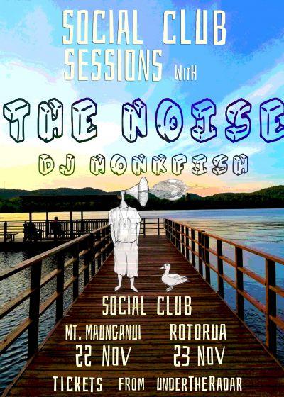 The Noise, Dj Monkfish