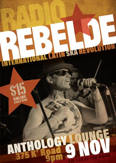Radio Rebelde - International Latin Ska Revolution