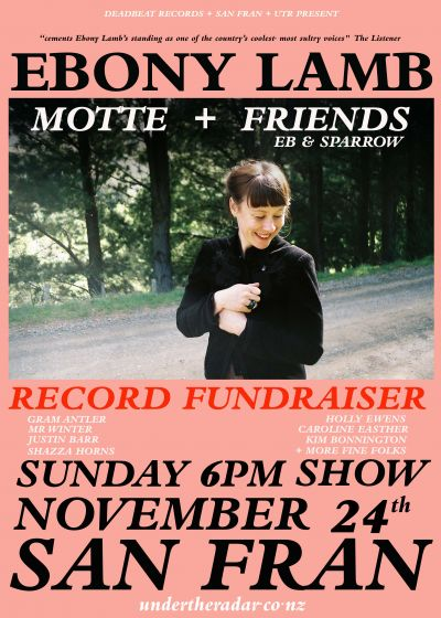 Ebony Lamb Record Fundraiser w/ Motte + Friends
