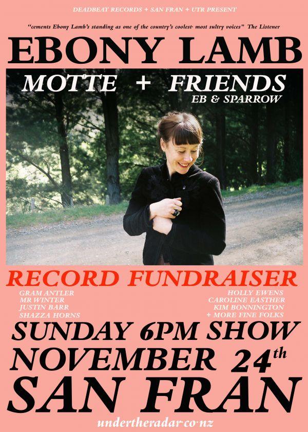 Ebony Lamb Record Fundraiser w/ Motte + Friends