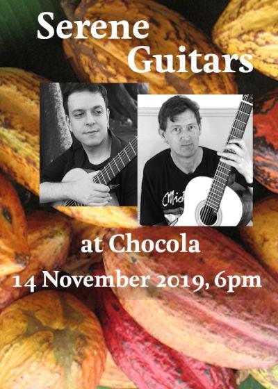 Serene Guitars: Barkin Sertkaya, Bruce Paine