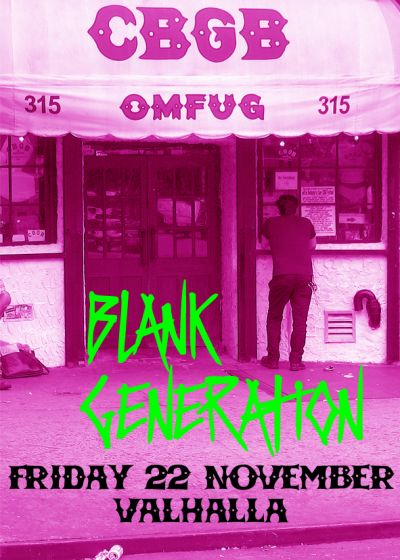 Cbgb's - Blank Generation