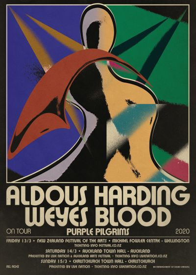 Aldous Harding, Weyes Blood And Purple Pilgrims