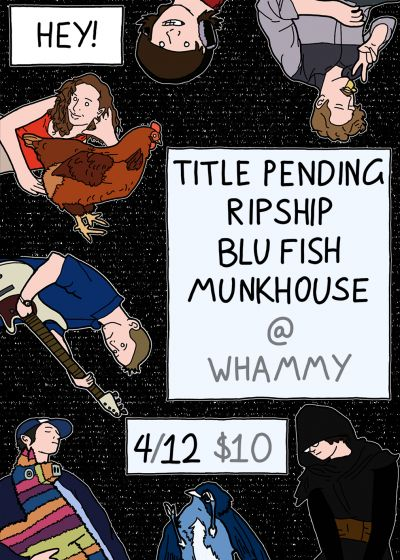 Title Pending RIP TP Ep Release w/ Ripship and Blu Fish