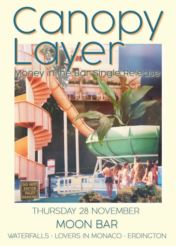 Canopy Layer, Waterfalls, Lovers In Monaco, Erdington