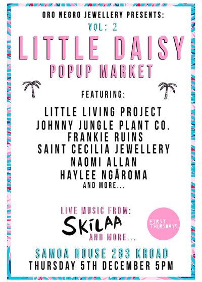 Little Daisy Popup Music Showcase w/ Skilaa & Kin Kachow