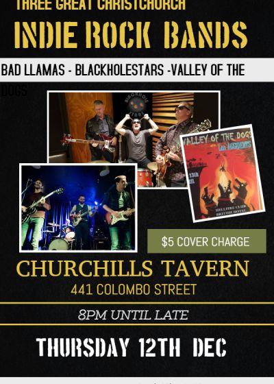 Blackholestars, bad Llamas, Valley Of The Dogs