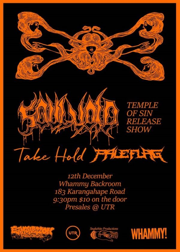Soul Void - Temple Of Sin Release Show w/ Pale Flag and Take Hold