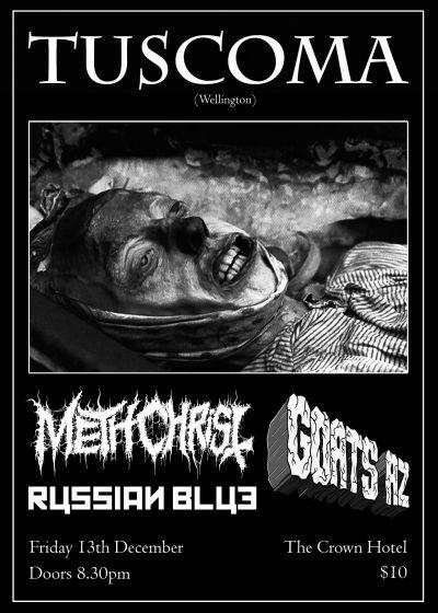 Tuscoma, Methchrist, Goats Az, Russian Blue