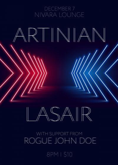 Lasair // Artinian // w/ Rogue John Doe