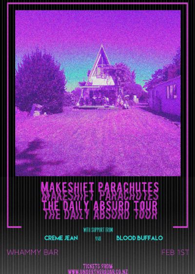 Makeshift Parachutes - The Daily Absurd Tour