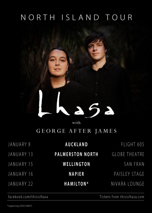Lhasa :: North Island Tour w/ George After James