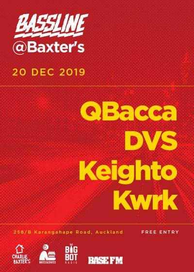 Bassline: QBacca, DVS, Keighto, Kwrk