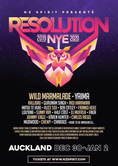 Resolution NYE Festival 2019/20