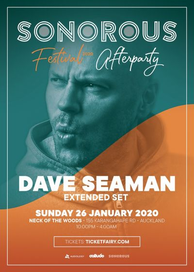 Sonorous Festival After Party Ft. Dave Seaman (UK)