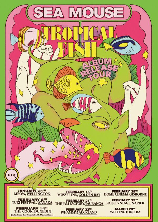 Sea Mouse: Tropical Fish Album Tour
