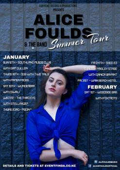 Alice Foulds Summer Tour