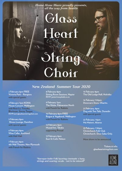 Glass Heart String Choir, Timothy Blackman, Rose Lu