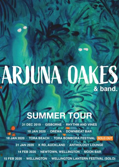 Arjuna Oakes Summer Tour - Auckland