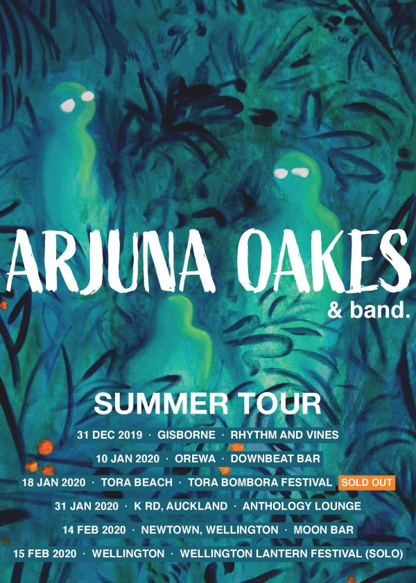 Arjuna Oakes Summer Tour - Auckland
