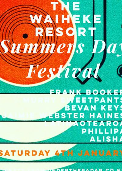 The Waiheke Resort Summers Day Festival