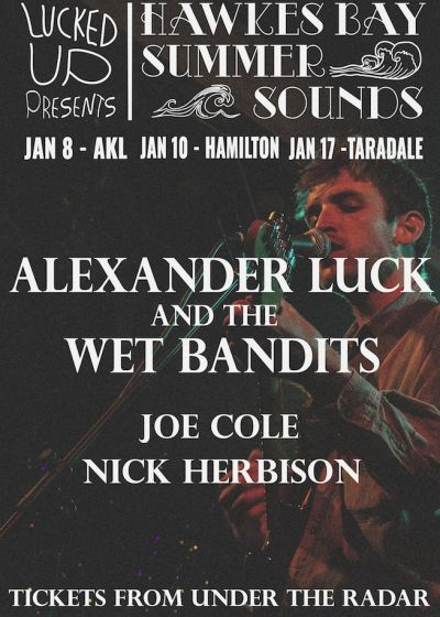 HB Summer Sounds (Hamilton): Alexander Luck and the Wet Bandits + more