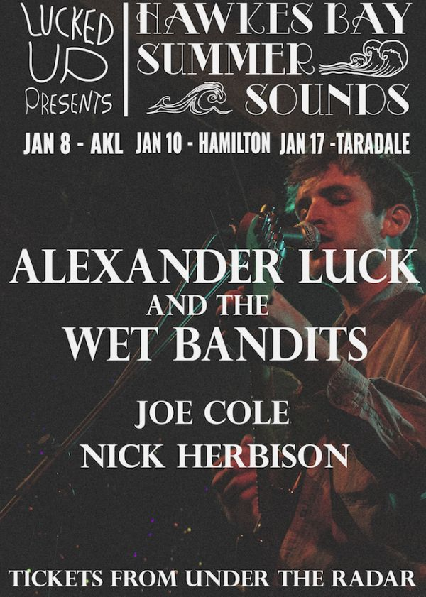 Alexander Luck and the Wet Bandits + more