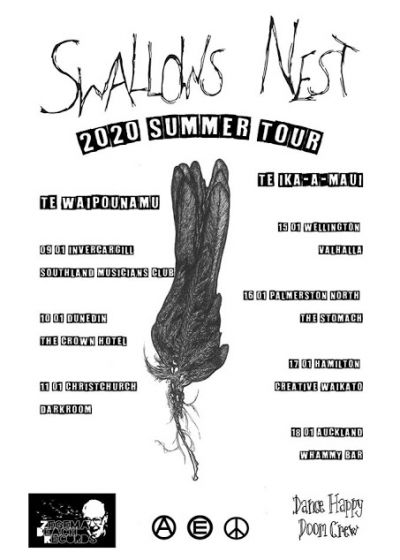 Swallows Nest 2020 Summer Tour