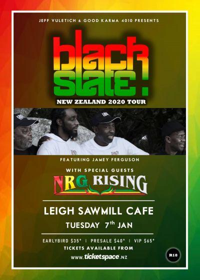 Black Slate, NRG Rising